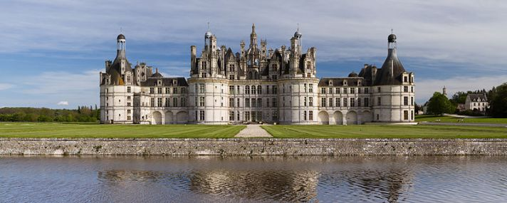 This is similar to the Palace of Silvana. Chateau de Chambord in France.